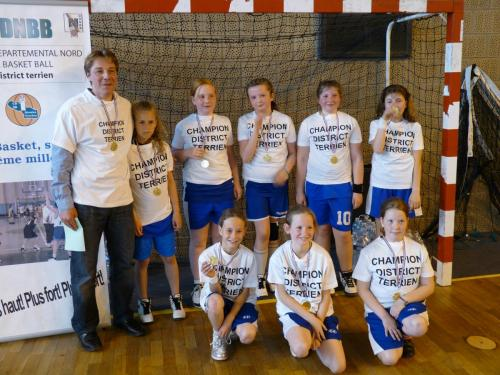 2012 Finale District Poussine