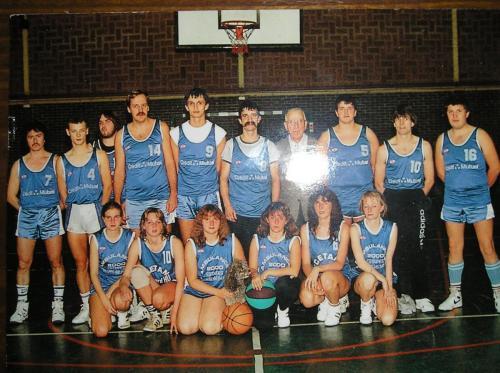 Saison 1987 / 1988 : Sénior Masculin & Féminin